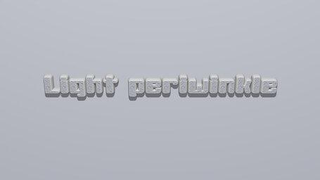 Light periwinkle