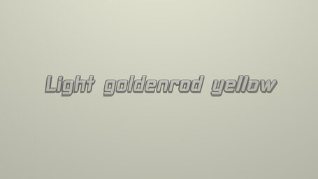 Light goldenrod yellow