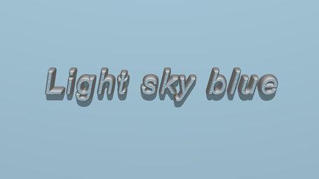 Light sky blue