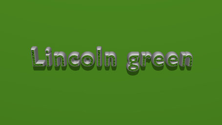 Lincoln green