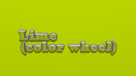 Lime (color wheel)