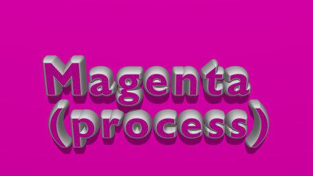 Magenta (process)