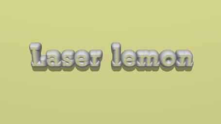 Laser lemon