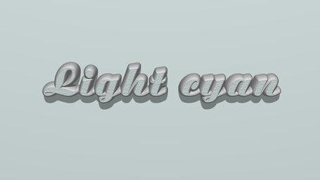 Light cyan