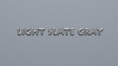 Light slate gray