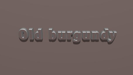 Old burgundy