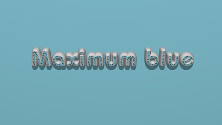 Maximum blue