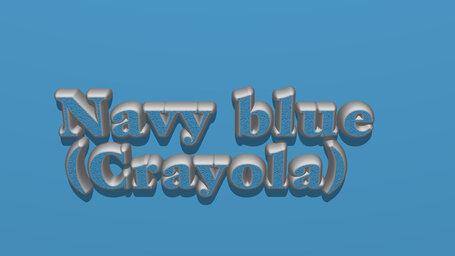 Navy blue (Crayola)