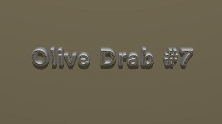 Olive Drab #7