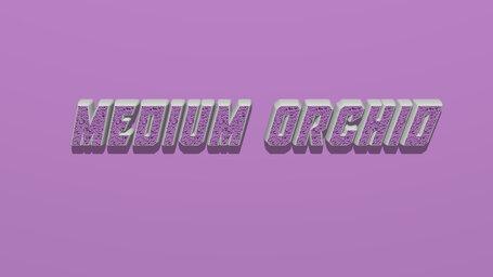 Medium orchid