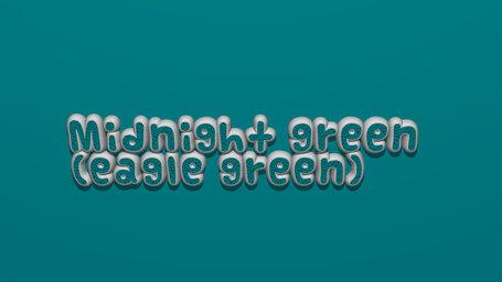 Midnight green (eagle green)