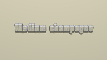 Medium champagne