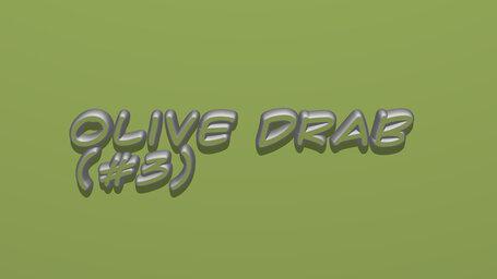 Olive Drab (#3)
