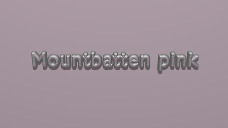 Mountbatten pink