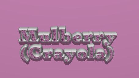 Mulberry (Crayola)