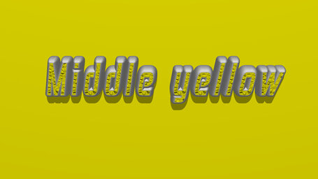 Middle yellow