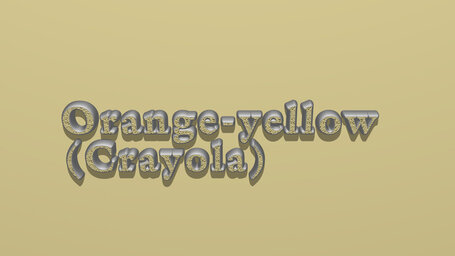 Orange yellow (Crayola)