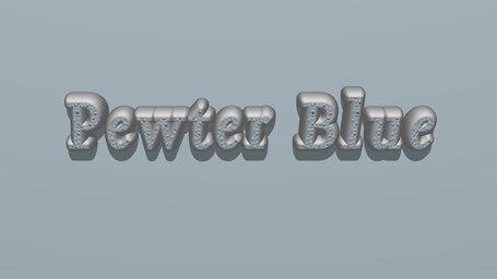 Pewter Blue