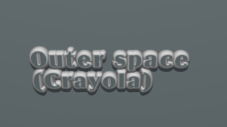 Outer space (Crayola)