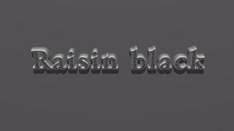 Raisin black