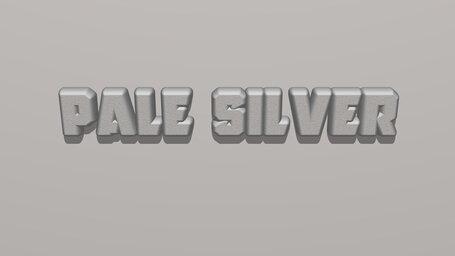Pale silver