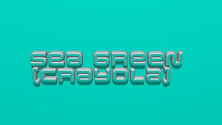 Sea green (Crayola)