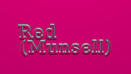 Red (Munsell)