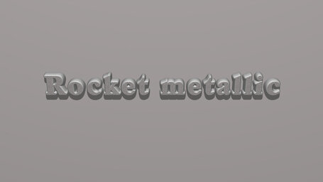 Rocket metallic