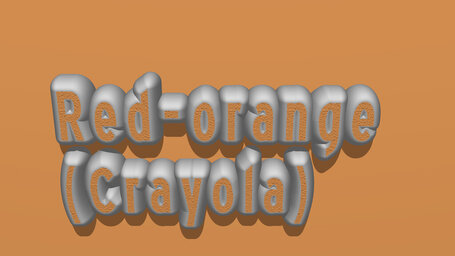 Red orange (Crayola)