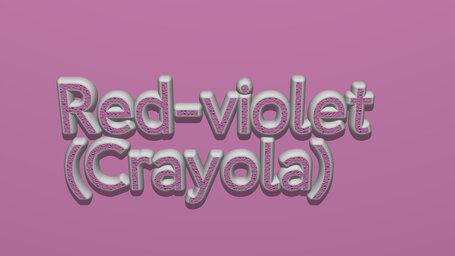 Red violet (Crayola)