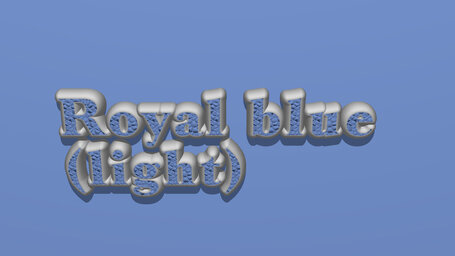 Royal blue (light)