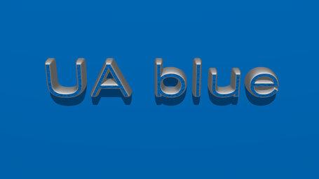 UA blue