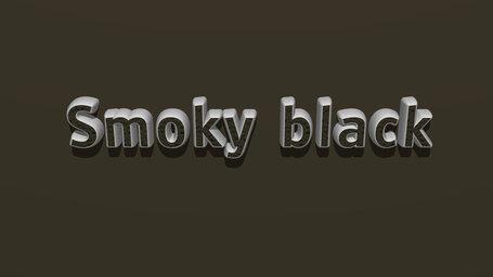 Smoky black