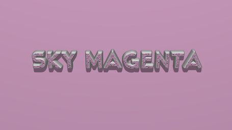 Sky magenta