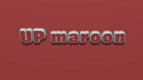 UP maroon