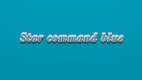 Star command blue