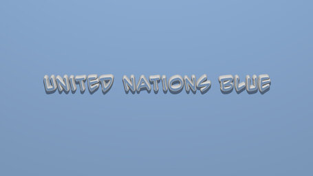 United Nations blue