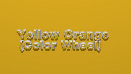 Yellow Orange (Color Wheel)