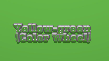 Yellow green (Color Wheel)