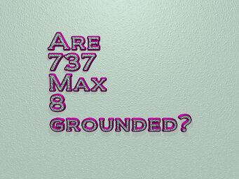 Are 737 Max 8 grounded?