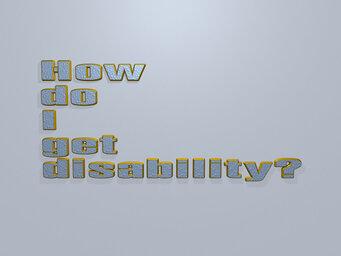 How do I get disability?