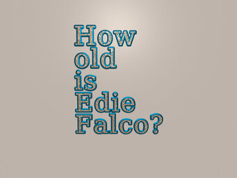 How old is Edie Falco?