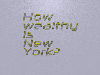 How wealthy is New York?