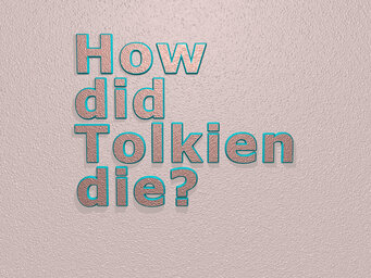 How did Tolkien die?