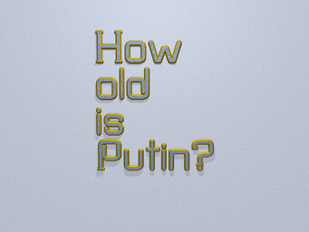 How old is Putin?