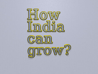 How India can grow?