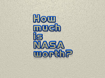 How much is NASA worth?