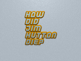 How did Jim Hutton die?