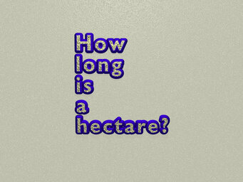 How long is a hectare?