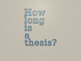 How long is a thesis?